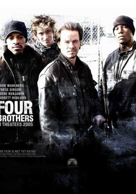 فيلم Four Brothers 2005 مترجم