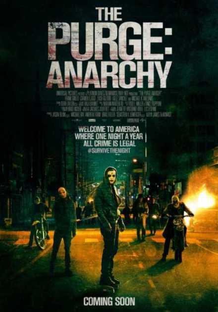 فيلم The Purge Anarchy 2014 مترجم