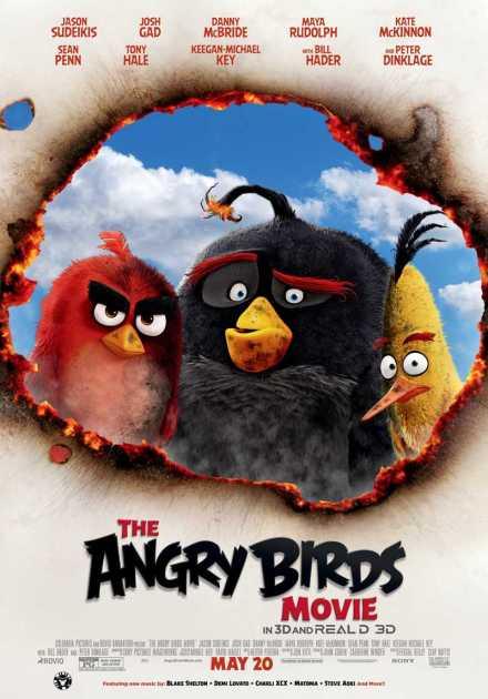 فيلم The Angry Birds 2016 مترجم