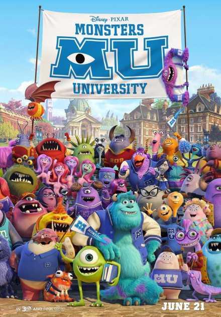 فيلم Monsters University 2013 مترجم