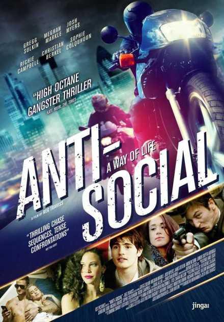 فيلم Anti-Social 2015 مترجم