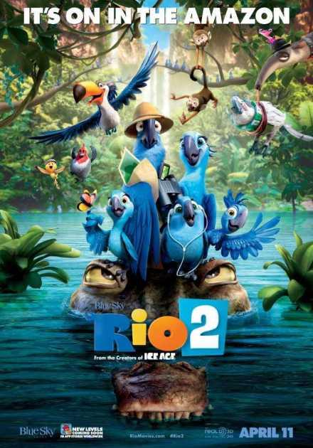فيلم Rio 2 2014 مترجم