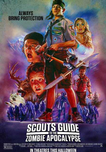 فيلم Scouts Guide to the Zombie Apocalypse 2015 مترجم