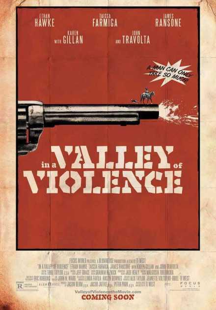 فيلم In a Valley of Violence 2016 مترجم
