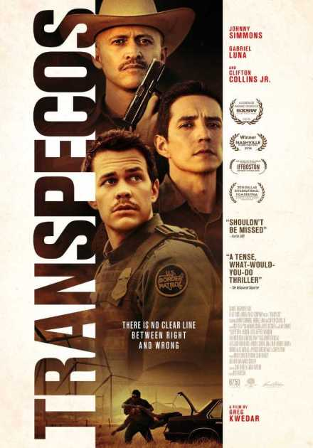 فيلم Transpecos 2016 مترجم