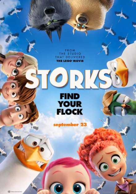 فيلم Storks 2016 مترجم