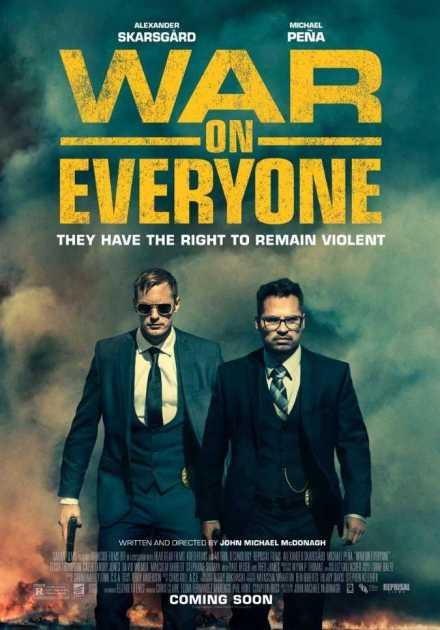 فيلم War On Everyone 2016 مترجم