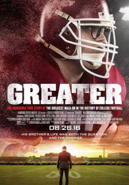 فيلم Greater 2016 مترجم