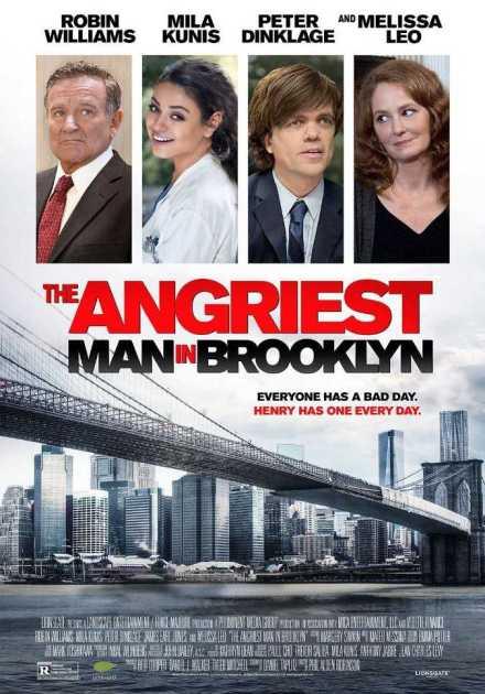 فيلمThe Angriest Man in Brooklyn 2014 مترجم