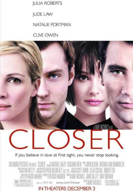 فيلم Closer 2004 مترجم
