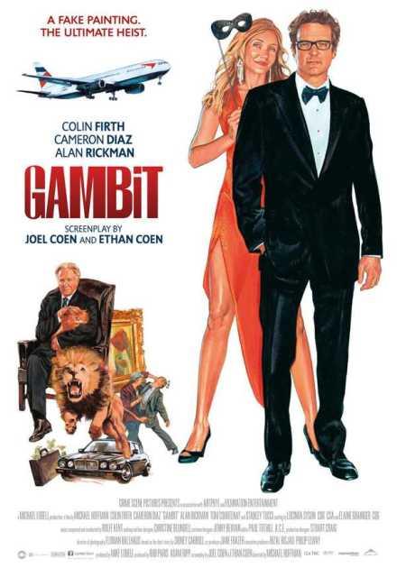 فيلم Gambit 2012 مترجم