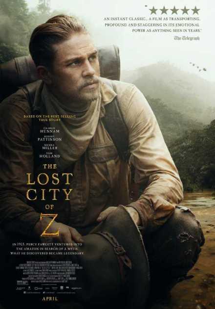 فيلم The Lost City Of Z 2016 مترجم