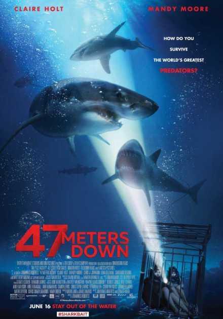 فيلم 47 Meters Down 2017 مترجم