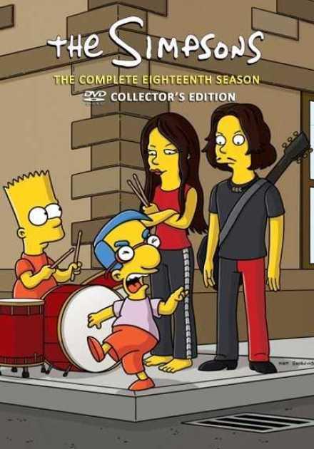 مسلسل The Simpsons الموسم الثامن عشر