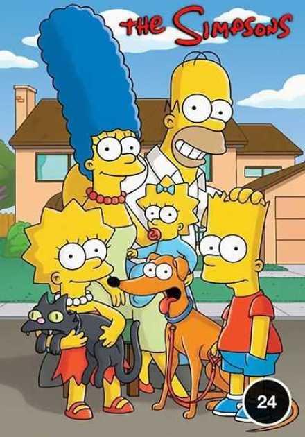 مسلسل The Simpsons الموسم الرابع و العشرون
