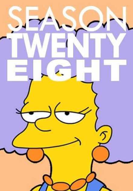 مسلسل The Simpsons الموسم الثامن و العشرون