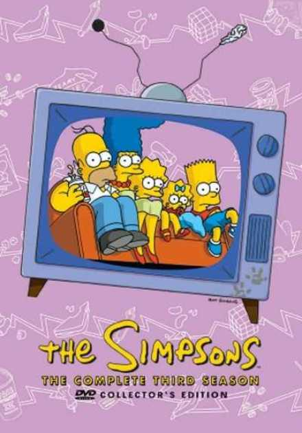 مسلسل The Simpsons الموسم الثالث