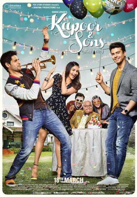 فيلم Kapoor & Sons 2016 مترجم