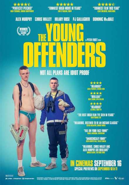 فيلم The Young Offenders 2016 مترجم
