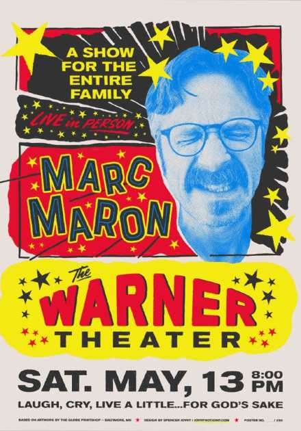 عرض Marc Maron Too Real 2017 مترجم