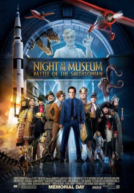فيلم Night at the Museum Battle of the Smithsonian 2009 مترجم