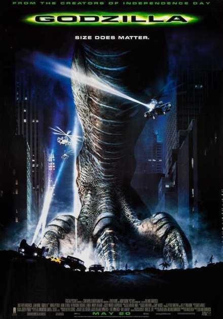 فيلم Godzilla 1998 مترجم