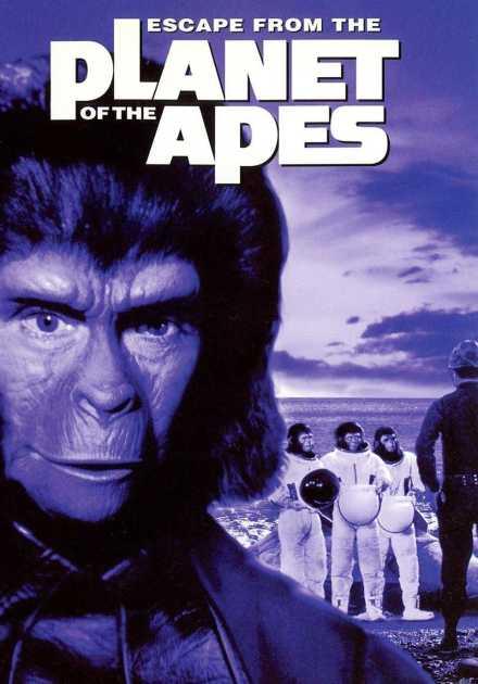 فيلم Escape From The Planet of The Apes 1971 مترجم