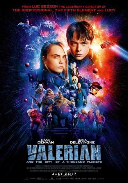 فيلم Valerian and the City of a Thousand Planets 2017 مترجم
