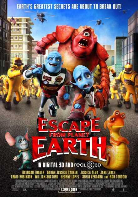 فيلم Escape from Planet Earth 2013 مترجم
