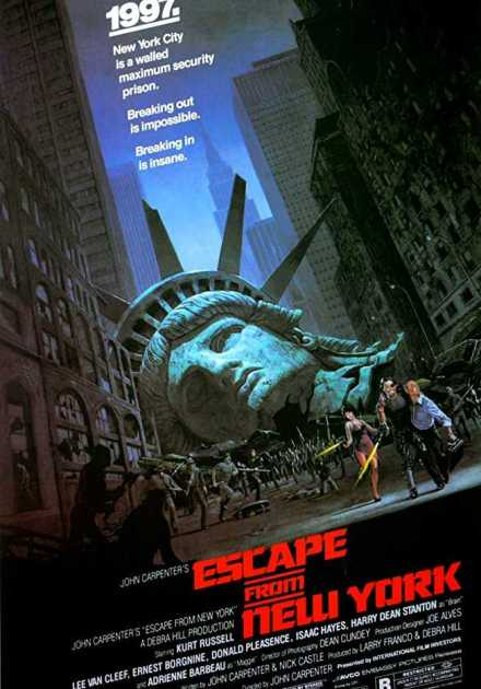 فيلم Escape from New York  1981 مترجم
