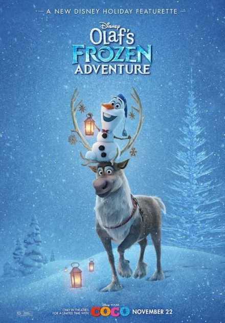 فيلم Olaf's Frozen Adventure 2017 مترجم