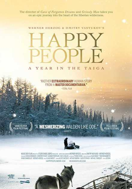 فيلم Happy People A Year in the Taiga 2010 مترجم