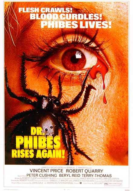 فيلم Dr. Phibes Rises Again 1972 مترجم