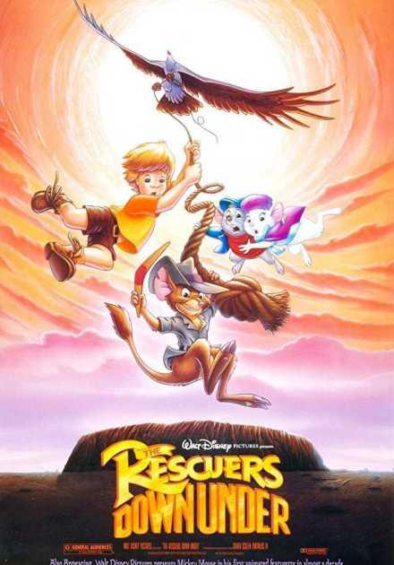 فيلم The Rescuers Down Under 1990 مترجم