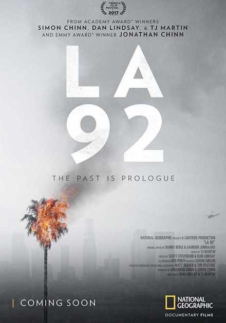 فيلم LA 92 2017 مترجم