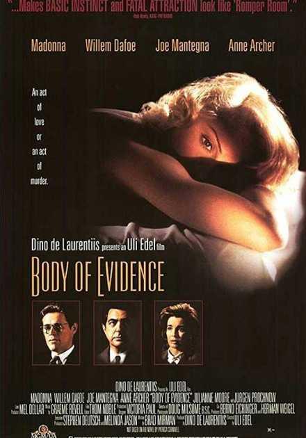 فيلم Body of Evidence 1993 مترجم
