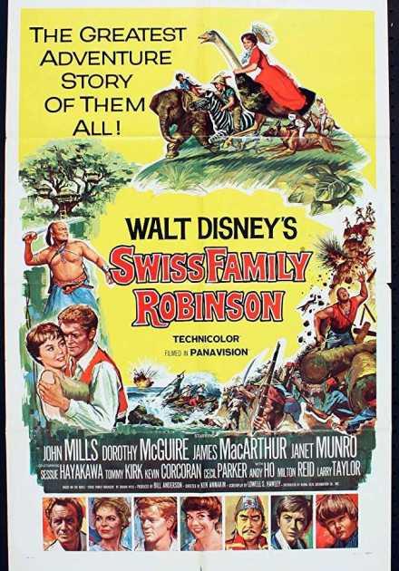 فيلم Swiss Family Robinson 1960 مترجم
