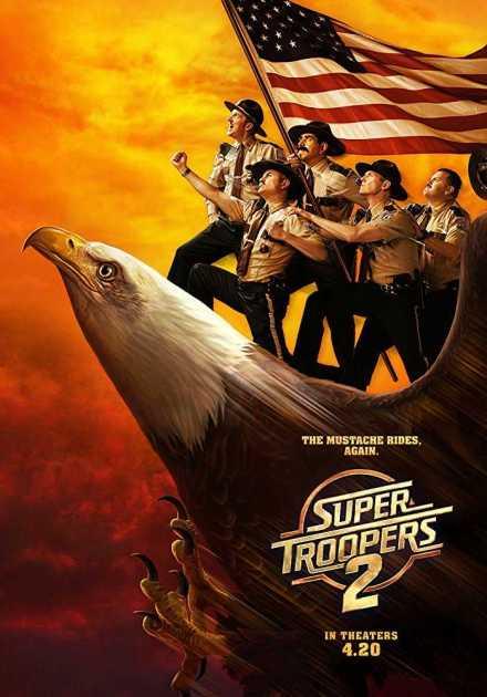 فيلم Super Troopers 2 2018 مترجم
