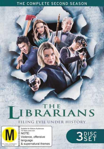 مسلسل The Librarians الموسم الثاني – الحلقة 10 والأخيرة