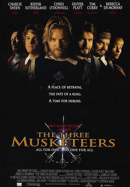 فيلم The Three Musketeers 1993 مترجم