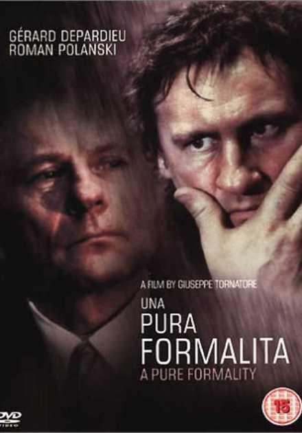 فيلم A Pure Formality 1994 مترجم