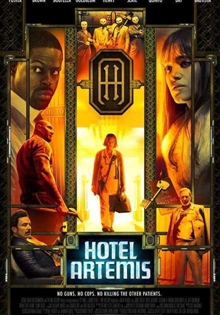 فيلم Hotel Artemis 2018 مترجم