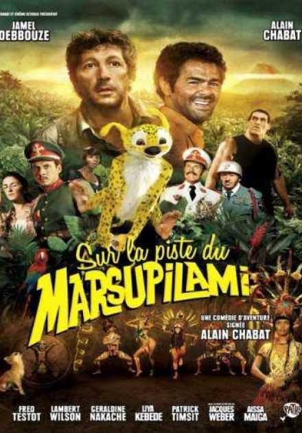 فيلم Sur la piste du Marsupilami 2012 مترجم
