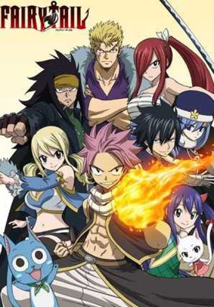 أنمي Fairy Tail 2014 – الموسم الثاني