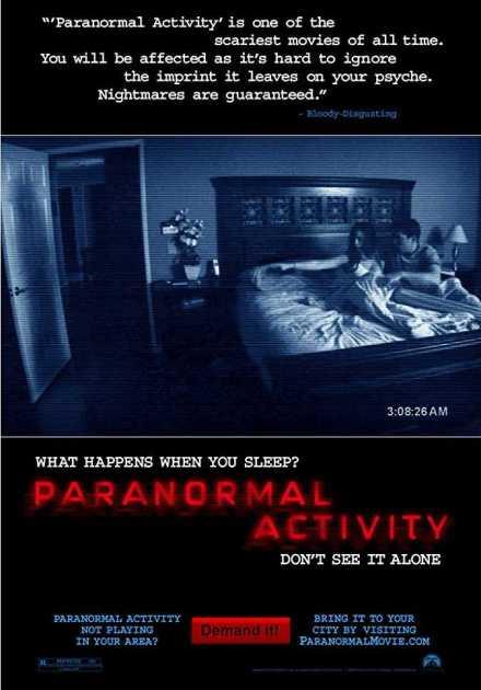 فيلم Paranormal Activity 2007 مترجم