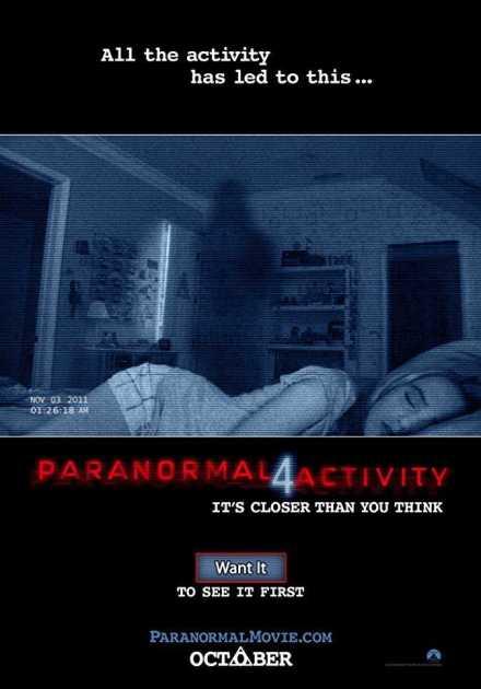 فيلم Paranormal Activity 4 2012 مترجم