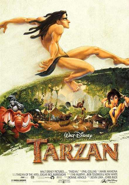 فيلم Tarzan 1999 مترجم
