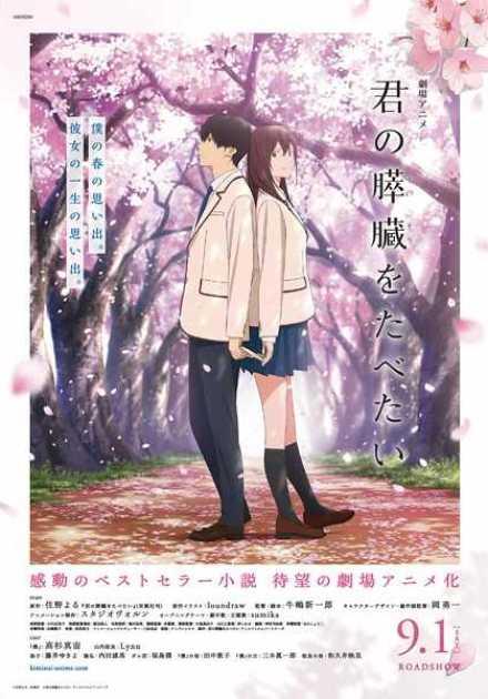 فيلم Kimi no Suizou wo Tabetai