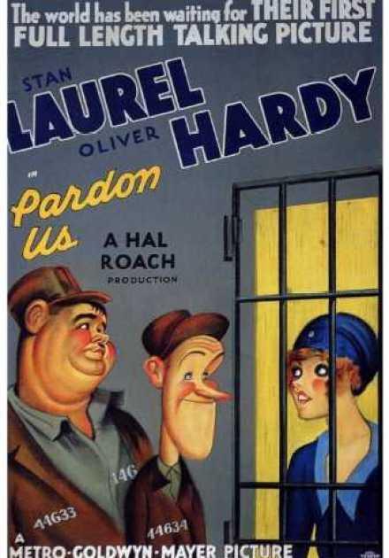 فيلم Pardon Us 1931 مترجم