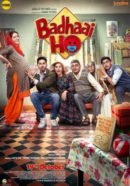 فيلم Badhaai Ho 2018 مترجم